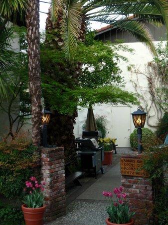 Roman Spa Hot Springs Resort: BBQ area