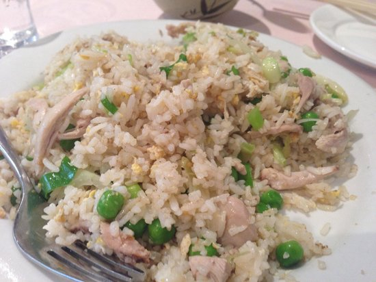 Ocean Seafood Chinese & Malaysian: fried rice with chicken