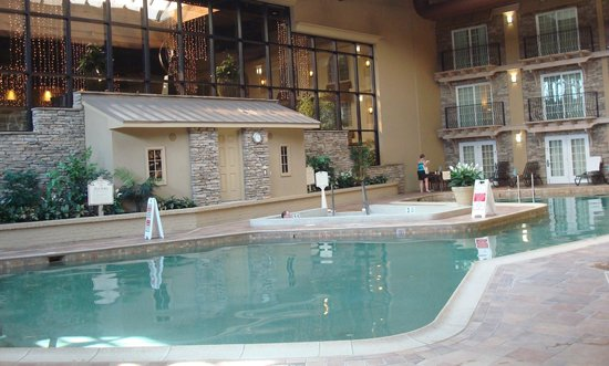 Eden Resort & Suites, BW Premier Collection: One of the prettiest indoor pools I've ever been in!!