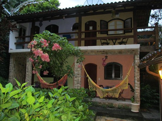 Aratinga Inn: Vista de la posada en las habitaciones de arriba y las dos de abajo