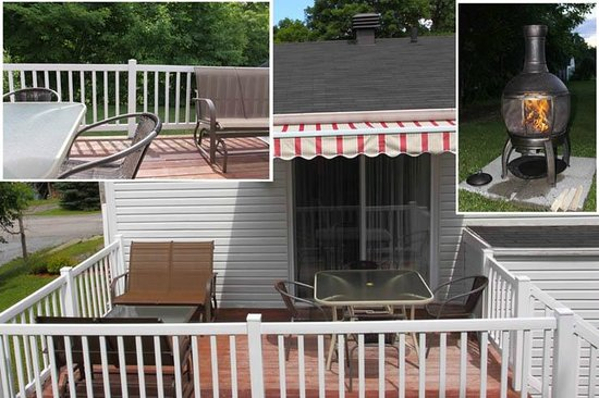 Gite Confort: Terrasse privé