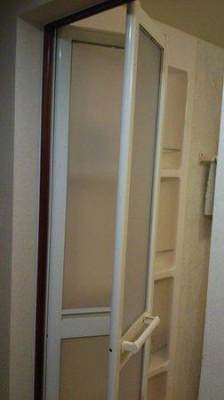 Beijing Great Hotel: PORTA DEL BAGNO A SOFIETTO