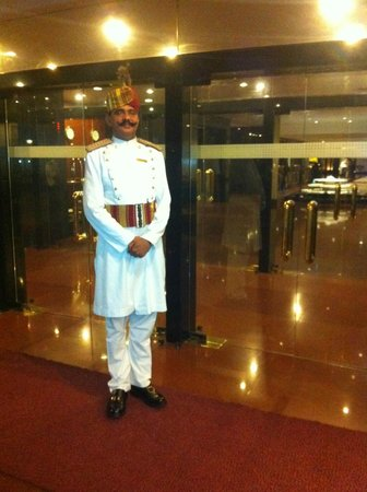 The Oberoi: Doorman