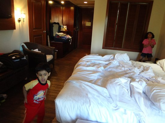Grand Mirage Resort: Room- kids love it
