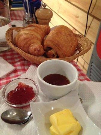 Bonjour : pastries