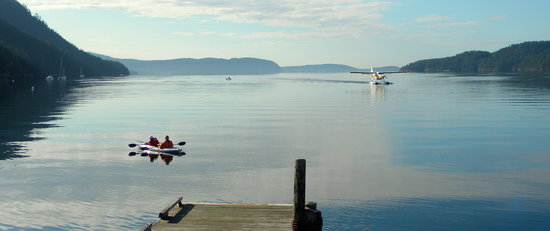 Orcas Suites at Rosario: kayakers
