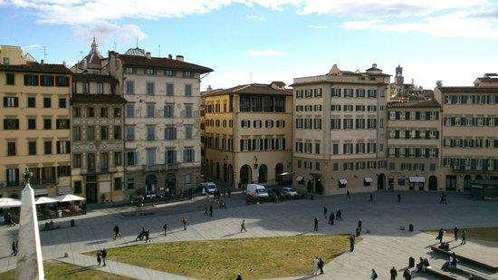 โรงแรมแกรนด์ มิเนอร์วา: toller Ausblick auf die Piazza Santa Maria Novella