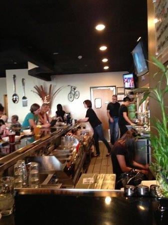 Saigon Kitchen : staff works hard!