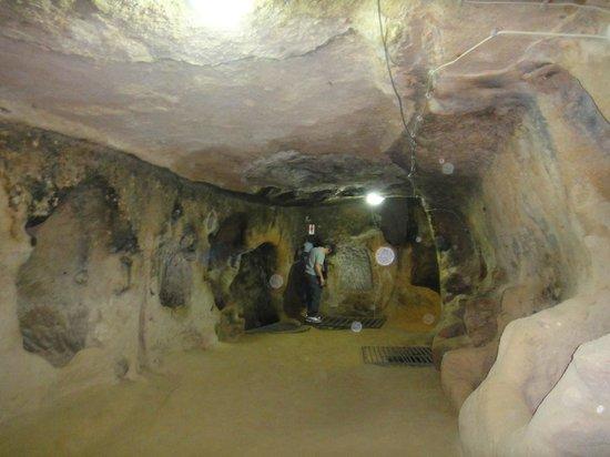 Mazi Yeralti Sehri: Lado de dentro da cidade subterranea Urgup
