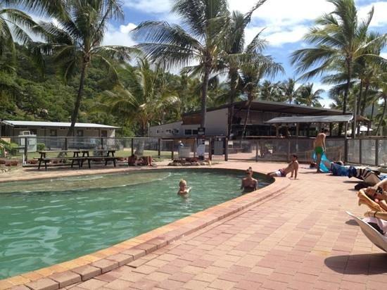 Base Backpackers Magnetic Island: pool @ sea