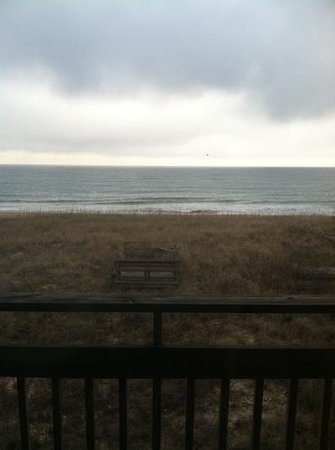 Outer Banks Beach Club: from our front window