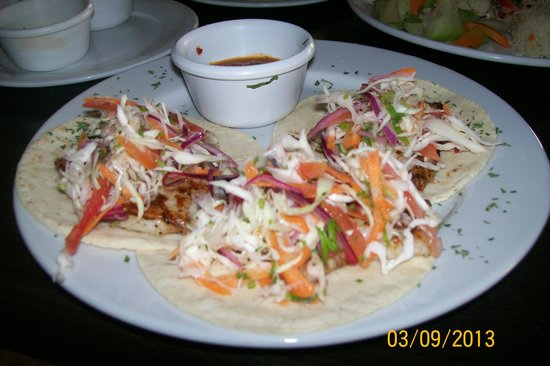 Chuuk Kay Restaurant Bar and Grill: yummy fish tacos