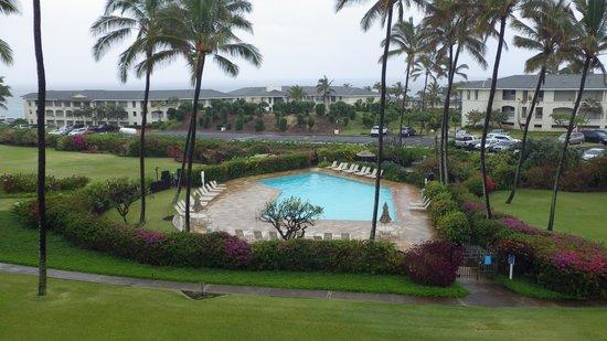 Aston at Poipu Kai: View to Pool