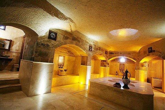 Kelebek Special Cave Hotel: Turkish Bath / Spa