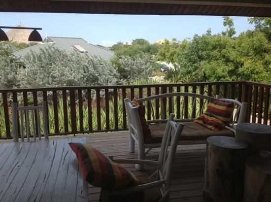 Morena Resort: uitzicht vanaf het balkon