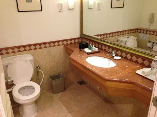 The Royale Bintang Kuala Lumpur: toilet was surprisingly clean.
