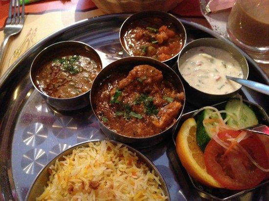 Ganesha: Indian Thali Meal