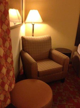 Hampton Inn Columbia : sitting area