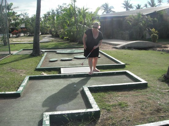 Plantation Island Resort: Crazy golf.