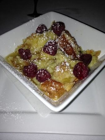Cafe 123: Bread Pudding...Do not leave without getting. Best in state.