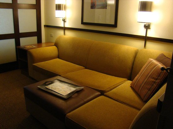 Hyatt Place Ft. Lauderdale Airport & Cruise Port: Corner sofa