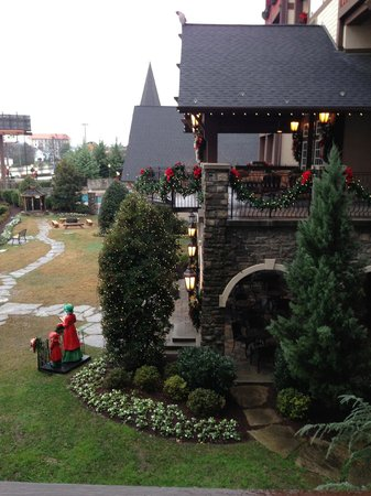 The Inn at Christmas Place : View from our room