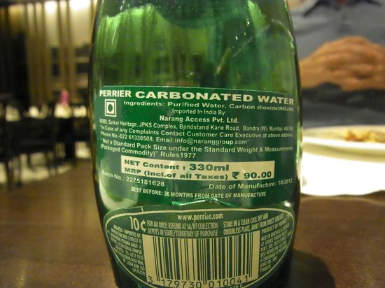 ITC Mughal, Agra: not as price on bottle, beware