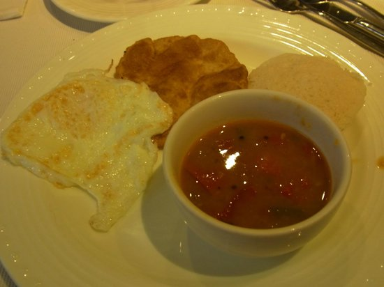ITC Mughal, Agra: breakfast