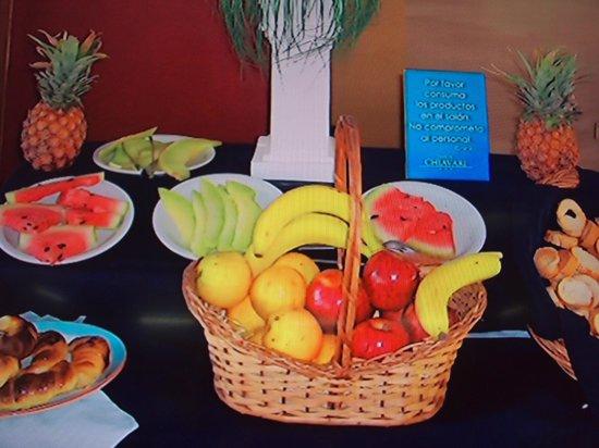 Hotel Chiavari: Lo que deberian dar en el desayuno , solo es una foto...