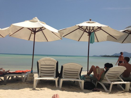 Novotel Samui Resort Chaweng Beach Kandaburi: Beach at hotel
