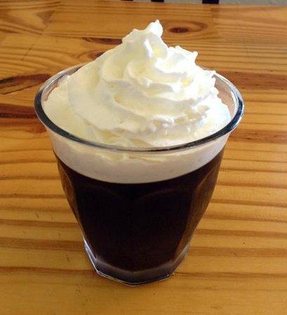 Doya Doya: coffee jello--interesting & refreshing