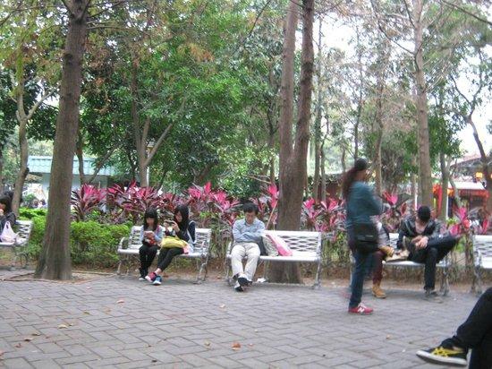 Wu Fen Pu (Wufenpu Garment Wholesale Area) : Park as Rest Stop