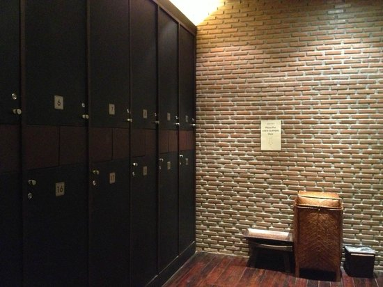 Spa Ten Siam@Siam: Locker