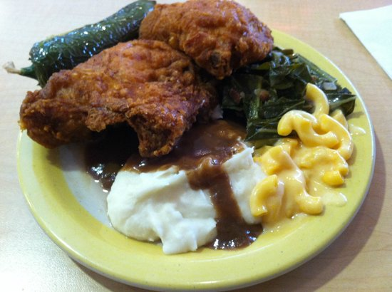 Country Buffet: I would go back for the Fried Chicken and fixins.
