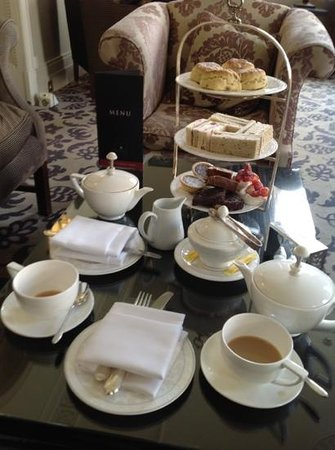 ‪ماكدونالد باث سبا: Afternoon Tea @ The Bath Spa‬