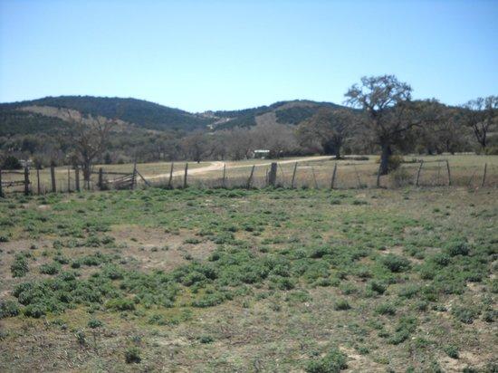 Dixie Dude Ranch: paysage magnifique à perte de vue