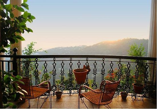Horizon Villa - South: View of the Spectacular Kangra Valley from the Balcony
