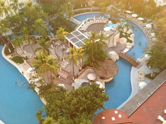 Emporio Acapulco Hotel: view from the 9th floor