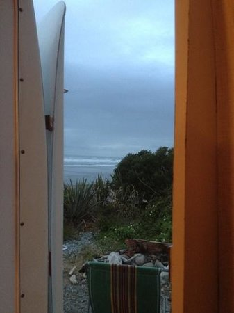 Rapahoe Bay Holiday Park : view from door