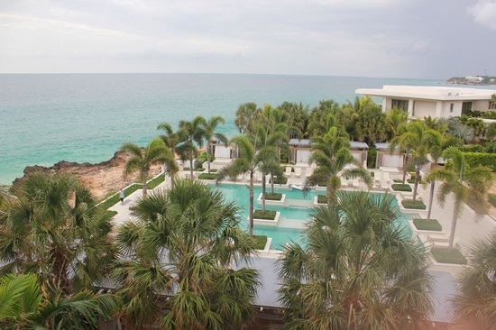 Four Seasons Resort and Residences Anguilla: Cloudy but still beautiful