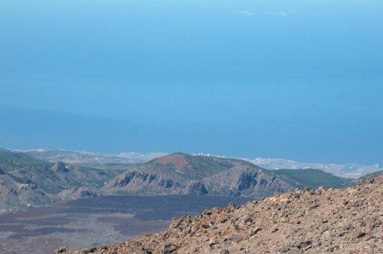Volcan El Teide: Średnica kaldery wulkanu to 16 x 9 km