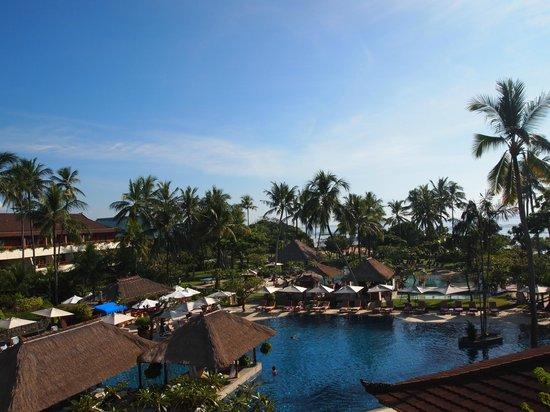 Nusa Dua Beach Hotel & Spa: view from our room