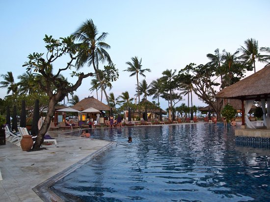 Nusa Dua Beach Hotel & Spa: view from the pool