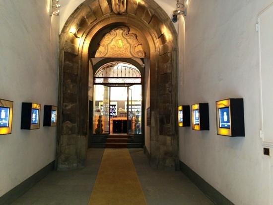 Olfattorio - Museo della Cipria: entrata