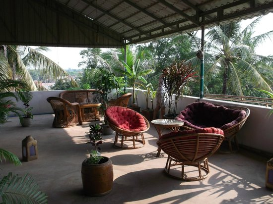 Firefly Guesthouse- The Berlin Angkor: Relaxecke