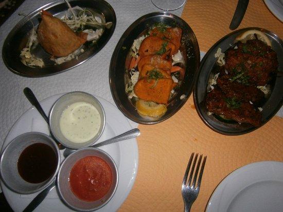 Punjab Palace Restaurant : entrantes