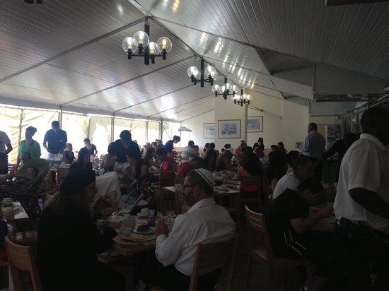Nova Like Hotel Eilat - an Atlas Hotel : it's a one dark breakfast!