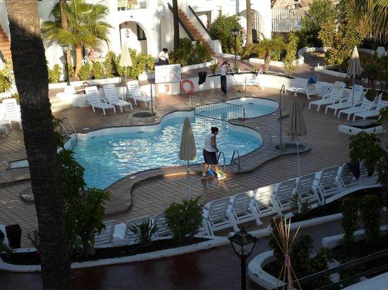 Hotel Nido del Aguila: Nido pool area