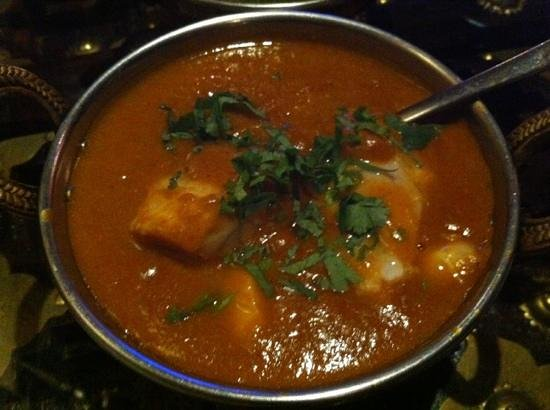 India Today Tandoor and Bistro: fish curry