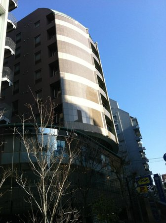 Ochanomizu St . Hills Hotel: Exterior of the hotel